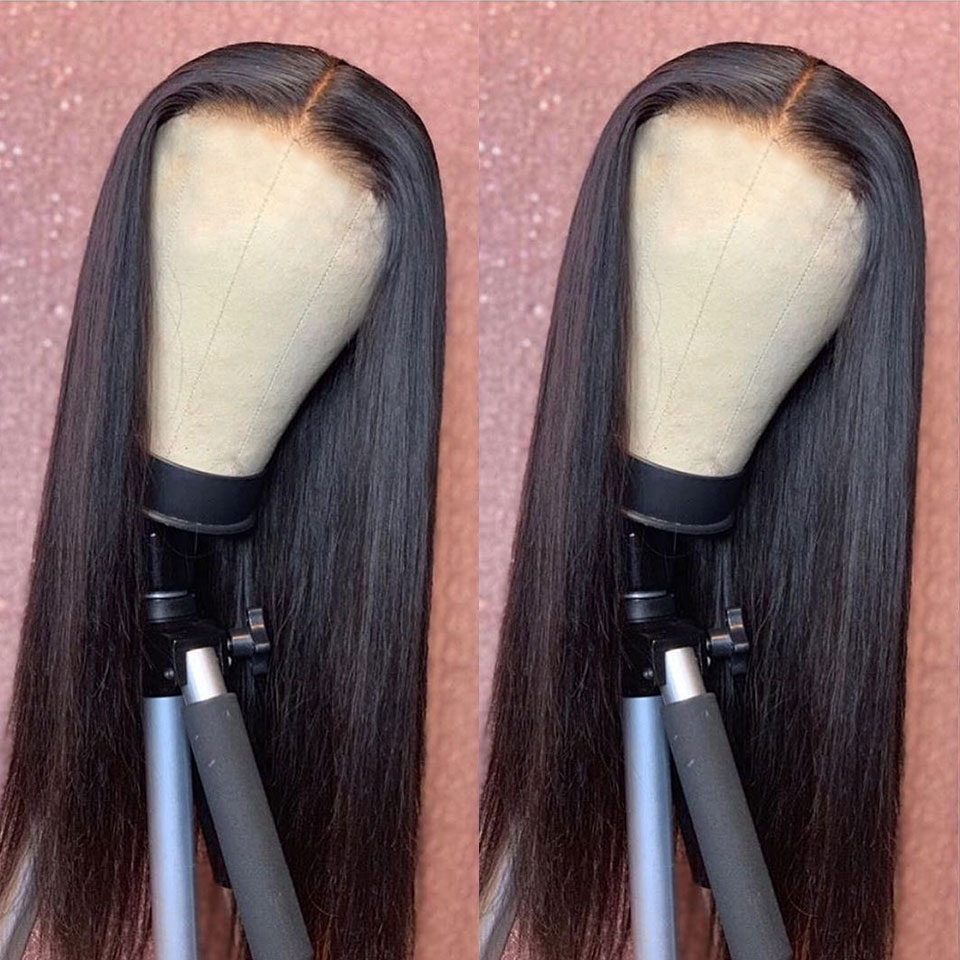 YYong T 1X6 Deep Part Lace Wig HD Transparent  Lace Part Wigs   Straight  Wig Middle Part 120% 5