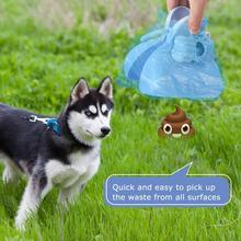 Hot Sales!!! Portable Poopered Scoopered Kit Dog Garbage Bags Sanitary Pet Waste Pick Up Cleaner with Bag Dispenser Garbage Bag
