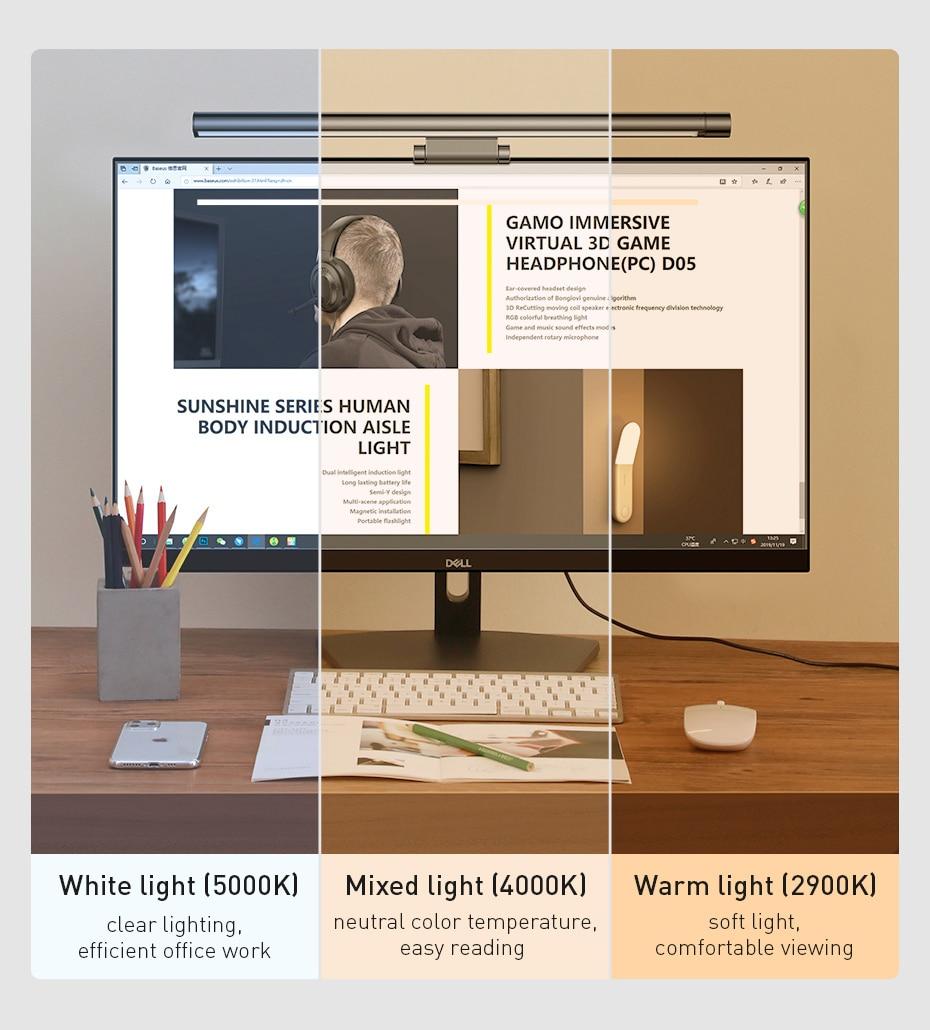 Baseus i-wok Series Screen Hanging Light Pro 5