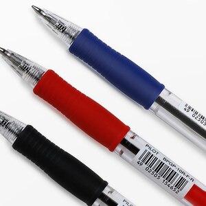 Image 3 - 12 sztuk japonia Pilot BPGP 10R SUPER GRIP kulkowe długopisy długopis przeźroczyste tworzywo sztuczne 0.7mm biuro szkolne