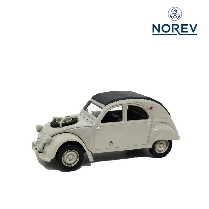 Norev 1:64 Citroen 2CV 4X4 Sahara 1966 Diecast Model Car
