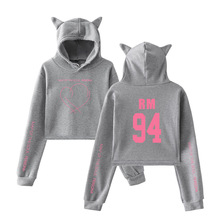 BTS Map of the Soul Persona Versitile Fashion Cat Ears Hoodie Women's