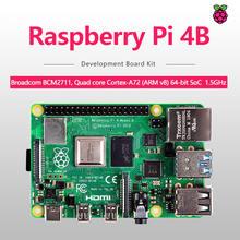 4gb sdram raspberry pi 4b modelo bcm2711 Cortex-A72 64-bit quad core 1.5ghz soc 2.4 & 5.0 ghz wifi bluetooth 5.0 raspberry pi 4b