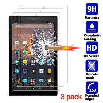 for Amazon Fire HD 10 2019 Screen Protector, Anti-Scratch Tempered Glass Film (10.1