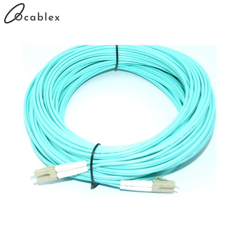 25m LC-LC LC/UPC-LC/UPC Multi-Mode OM3 Fiber Cable Multimode Duplex Fiber Optical Jumper Patch Cord