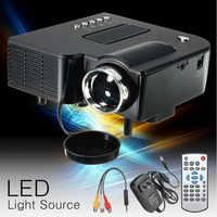 UNIC UC28+ LED Mini Projector Portable 1080P Full HD Projector Home Theater Projectors Audio Media Player VGA/USB/SD/AV Input