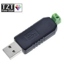 TZT USB a RS485 485 adaptador de convertidor apoyo Win7 XP Vista Linux Mac OS WinCE5.0
