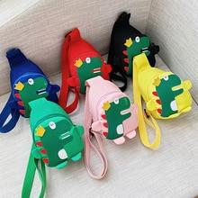 Children Crossbody Bags Messenger Dinosaur Chest Bag Baby Outdoor Travel Backpack