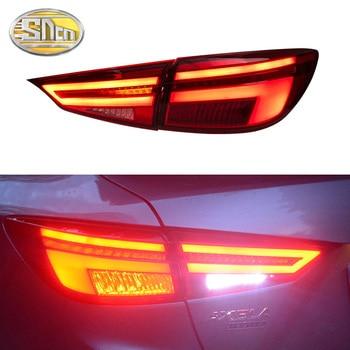 Car Styling For Mazda 3 Tail Lights 2014~2018 Mazda3 Axela Tail Light Orignal Design LED Rear Lamp DRL+Brake+Park+Signal light