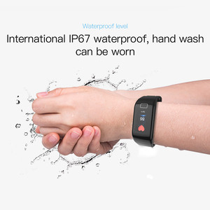 Image 4 - F1 Plus Smart Band Blood Pressure Waterproof Color Screen Sports Bracelet Heart Rate Monitor Wristband