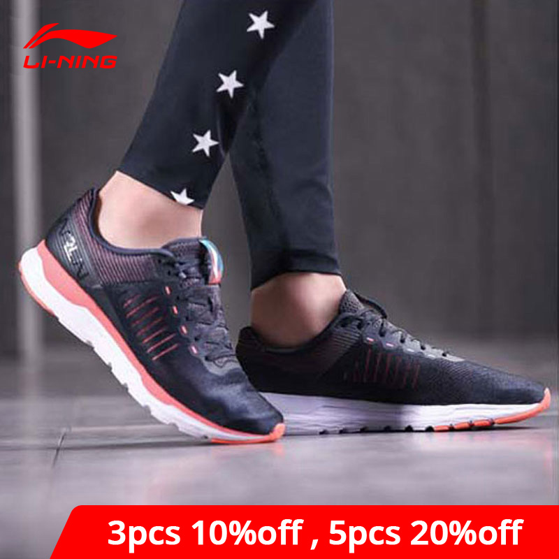 Li-Ning/Женская обувь для бега ACE, светильник, спортивная обувь с подкладом li ning, дышащие кроссовки для фитнеса, ARBN006 XYP671