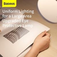 Baseus Flexible Hose Desk Lamp Foldable Dimmable Touch Table Lamps Universal 4000K Eye Protection Study Lamp LED Table Light