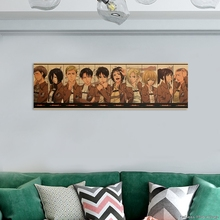 Poster Wallpaper Room-Decoration Attack Titan-Character Anime Collection Classic Cartoon