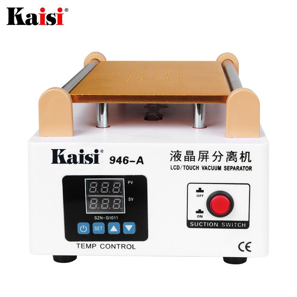 Kaisi 946A Lcd-scherm Touch Screen Separator Ingebouwde Pomp Vacuüm Glas 7in Lcd Separator Machine Scherm Demonteren Reparatie tool