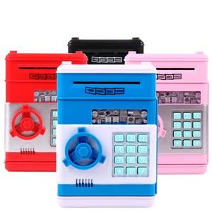 Электронный копилка для банкоматов, копилка для денег, копилка для монет, копилка для банкоматов, безопасная коробка для авто, бумажная банк...