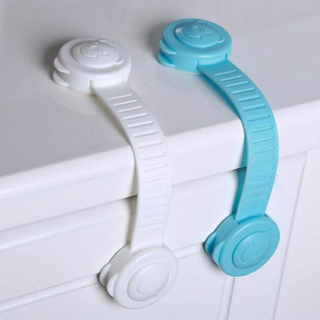 Protection bébé sécurité tiroir serrures nouveau-né soins enfant protège-doigts enfants porte serrure réfrigérateur armoire serrure couverture de sécurité