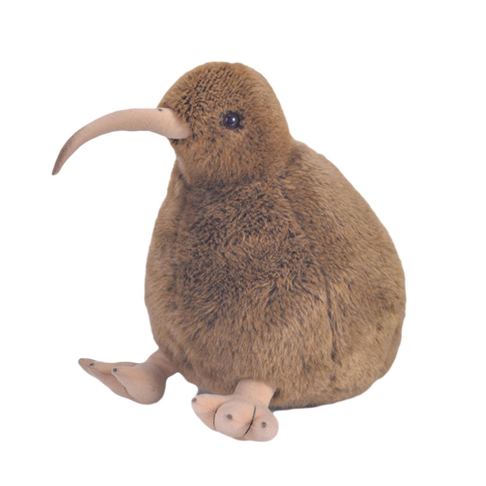28cm Kiwi Bird Plush Toys Meme Simulation Stuffed Animal Doll Kiwi Dolls For Christmas Gift Bird Home Desktop Decor Kids Toy