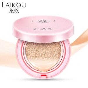 LAIKOU Air Cushion BB Cream Concealer Makeup Korean Cosmetics Bare Make up Foundation Sunscreen Moisturizing CC Isolation