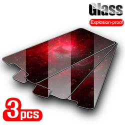 3PCS Tempered Glass For Doogee Y9 Y8 Plus Y6 Glass Screen Protector For Doogee X9 Pro X5 Max X90 X60L X6 X55 X53 X50 Glass Film