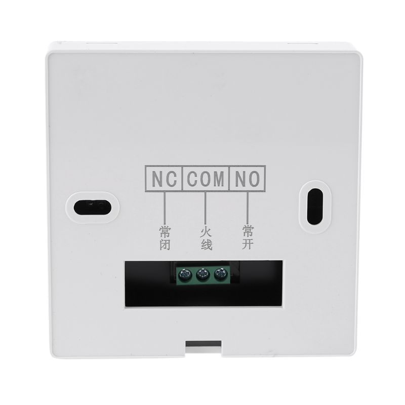 Digital Gas Boiler Thermostat 3A Weekly Programmable Room Temperature Controller X7YF