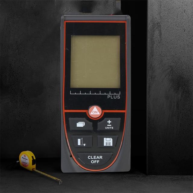 jrtmfg лазерный дальномер 100 м ручной портативный электронный фотография