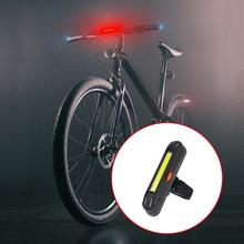 LED Riding Charge Tail Light Lighting Modes Bicycle COB Lights Led Rear Lamp