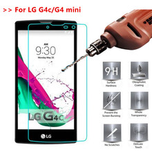 Tempered Glass For LG G4 mini 9H Premium Screen Protector Toughened protective glass film on LG G4c Magna H502 H502F H520N C90 lg g4c