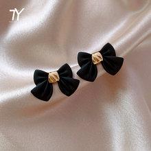 2020 новый классический элегантный черный галстук бабочка универсальные