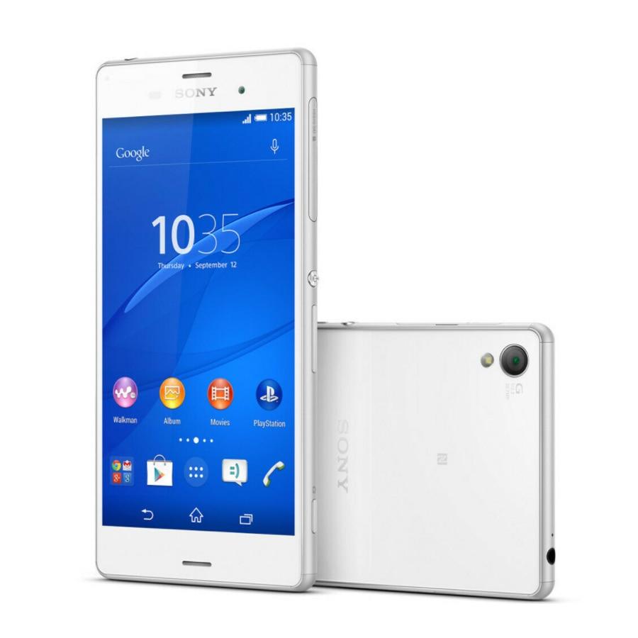 New Original 5.2 Inch Sony Xperia Z3 D6603 3GB 16GB 32GB Mobile Phone 4G LTE Snapdragon 801 Quad Core 3100mAh NFC Smartphone