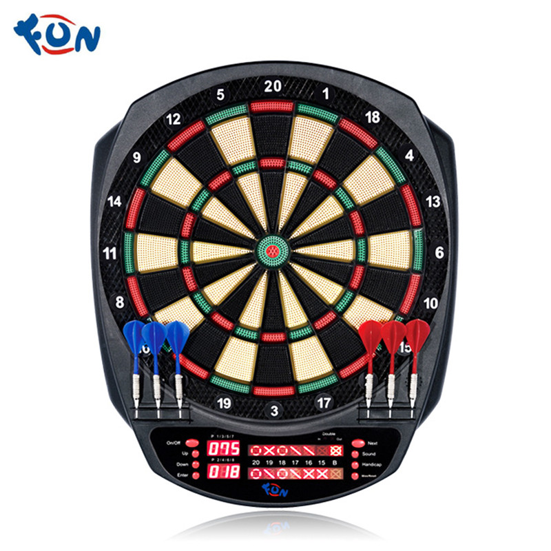 FUN Professional Competition Training Automatic Scoring Electronic Dart Board Set Home Bar Office Entertainment Dart Machine