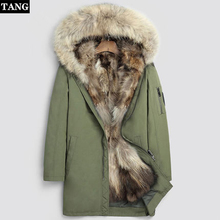 Fashion women's real rabbit fur lining winter jacket coat Sc