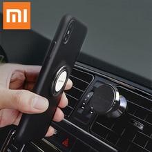 Orijinal Xiao mi mi araba telefon tutucu seti cep telefonu halkası stent navigasyon braketi manyetik emme stentleri 360 derece rotasyon