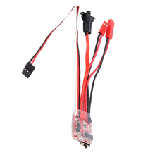 20A Brushed ESC Speed Control w/ Brake for 1/10 Scale RC Car Crawler Truck Buggy Upgrade Parts