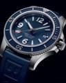 Luxus Marke Neue Blau Gummi Automatische Mechanische Männer Uhr Edelstahl Keramik Lünette Sport Uhren Sapphire ETA 2836 AAA +