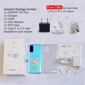 Image 5 - Original HONOR Ansicht 30 Pro Ehre V30 Pro SmartPhone 5G Version 6,57 zoll Kirin 990 5G SOC Octa core Android 10 NFC