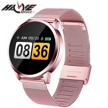 Q8 smart watch color screen Bracelet Heart rate step blood pressure monitoring round factory direct sales