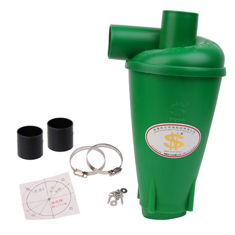 Cyclone Dust Collector Filter Turbocharged Cyclone Without Flange Base Set Tool 4XFB