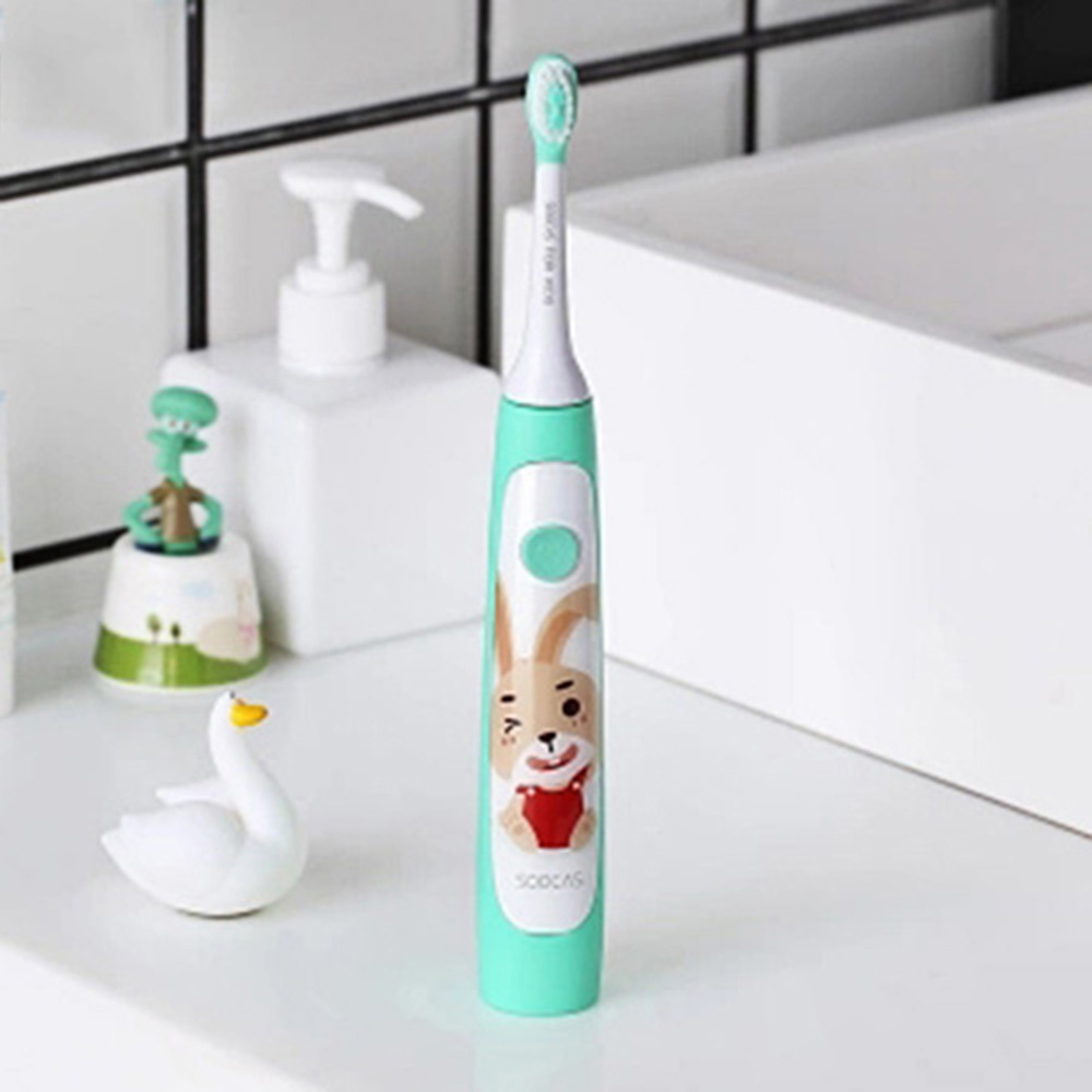 Original SOOCAS C1 Children Electric Toothbrush IPX7 waterproof Sonic Automatic Toothbrush for Children Kids Wireless Charging image