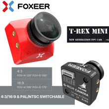 Foxeer T-Rex 1500TVL 6ms Low Latency CMOS 2MP 4:3/16:9 PAL/NTSC Switchable Super WDR Mini FPV Camera For FPV Racing Drones Toys