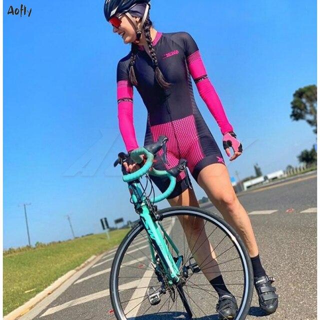 Go pro xam triathlon esportes ao ar livre das mulheres novo wear macacão ciclismo skinsuit mtb ciclismo ciclo roupas skinsuit 1