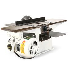 220V 2800r/min Multifunctional Woodworking Saws Desktop Electric Wood Planer Machine and 1.3KW Motor