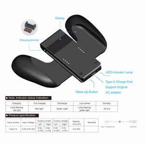 Image 2 - 닌텐도 스위치 ns n 스위치 조이 콘 컨트롤러에 대한 새로운 충전 핸드 그립 게임 패드 스탠드 홀더