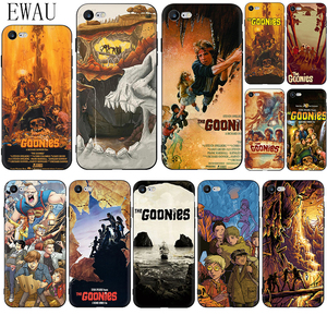 EWAU Goonies Posters Soft Silicone phone case for iphone 12 Mini X XR XS 11 Pro Max SE 2020 5 5s SE 6 6s 7 8 plus
