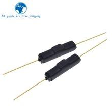 10 pces reed interruptor plástico tipo GPS-14B GPS-14A 2*14 anti-vibração dano interruptor magnético nc gerkon normalmente fechado/aberto