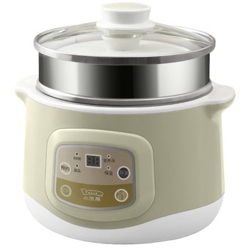 Small raccoon water heater electric cooker automatic soup pot mini baby porridge pot ceramic bird's nest electric cooker