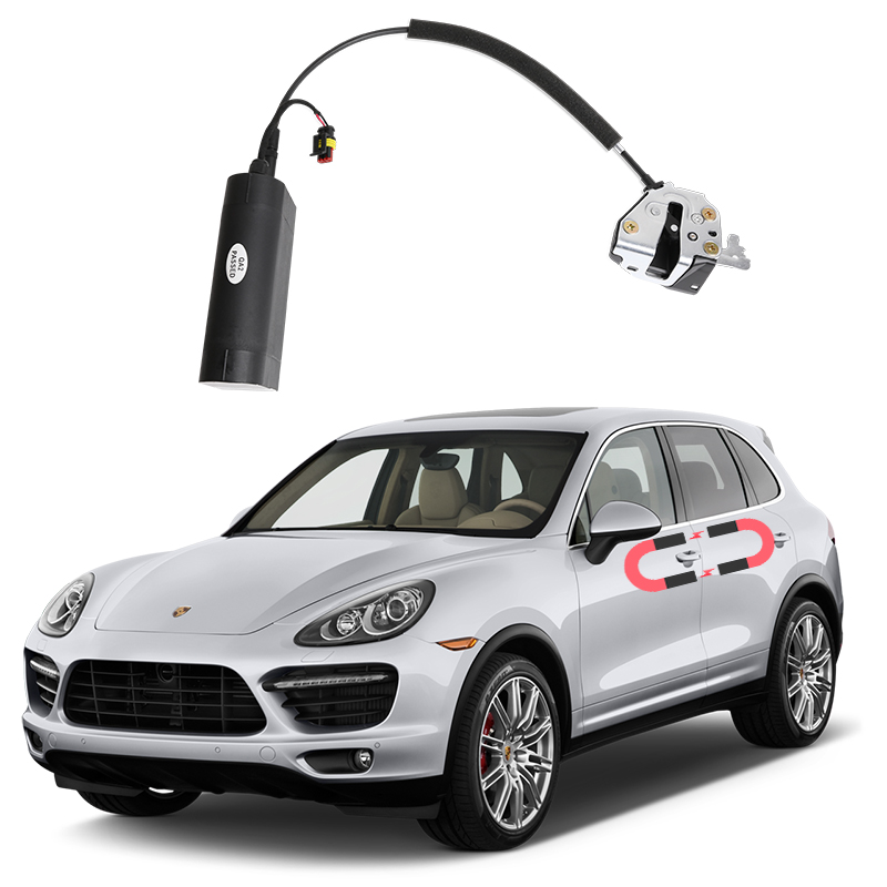 For Porsche Cayenne Electric Suction Door Automobile Refitted Automatic Locks Car Accessories Intelligence Suction Door