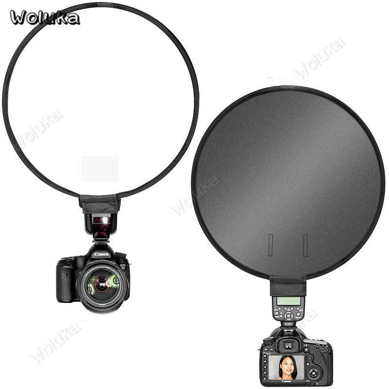40cm portable mini universal Soft box round soft cover for flash Speedlite cover photography softbox CD50 T10