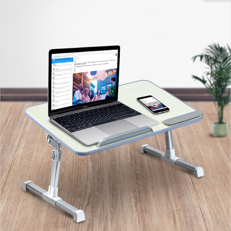 Folding Laptop Desk Notebook Table With Cooling Fan Adjustable Lift Portable Laptop Table For Dining Working Study Desk