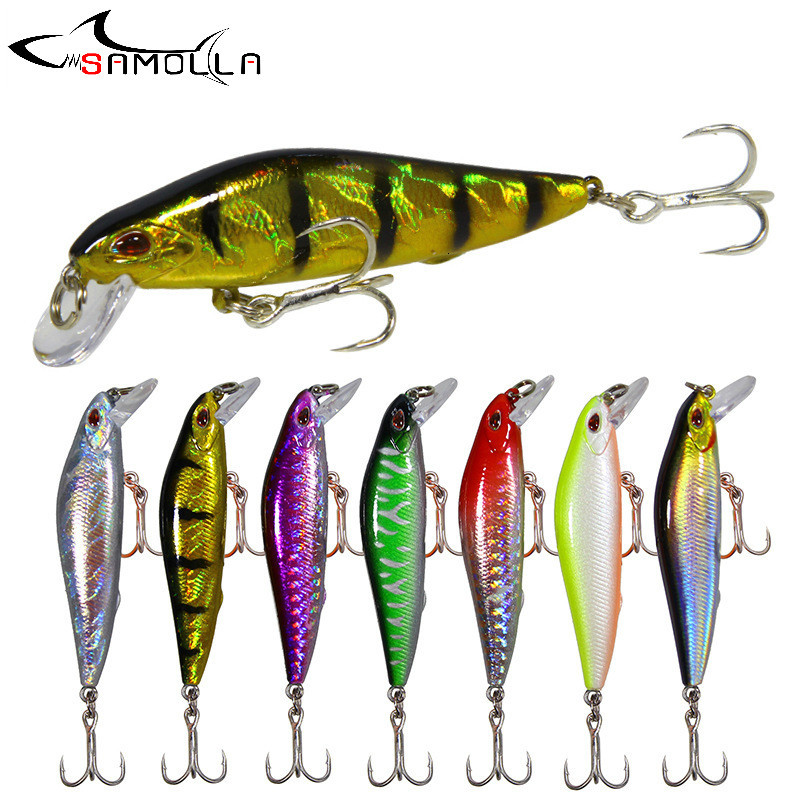 Minnow Fishing Lure Weights 7.6-11.3g Fishing Tackle Ultra Long-range Technology Isca Artificial Laser Surface High Reflection