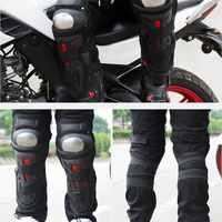 MOTOWOLF черные устойчивые к падению наколенники для мотоциклистов из нержавеющей стали для езды на открытом воздухе Наколенники дышащие нако...